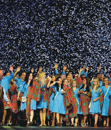 Opening Closing Ceremony Confetti