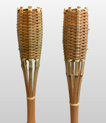 Colour Tiki Torches