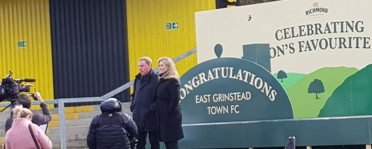 Stadium special effects mark East Grinstead winning Richmond's Nation's Favourite Fans competition