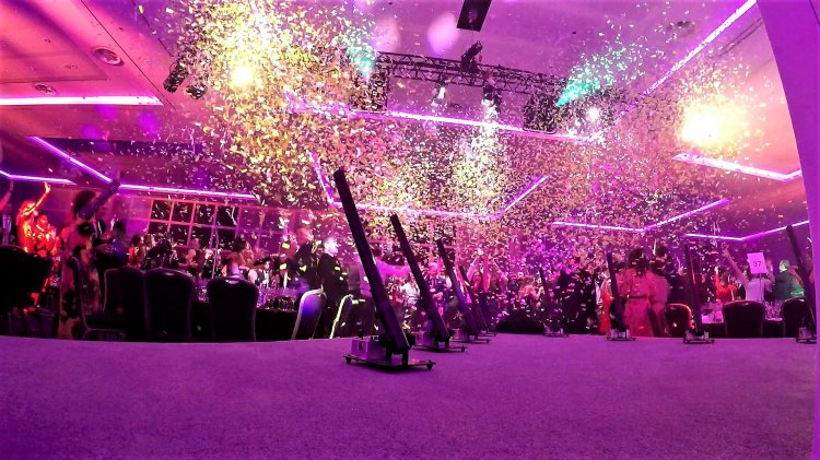 Hire Remote Control Confetti Cannons For Stunning Effects Throughout Your Party